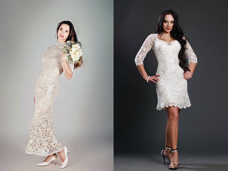 ee1acbc89b2 Вязаное свадебное платье – уникальный наряд невесты