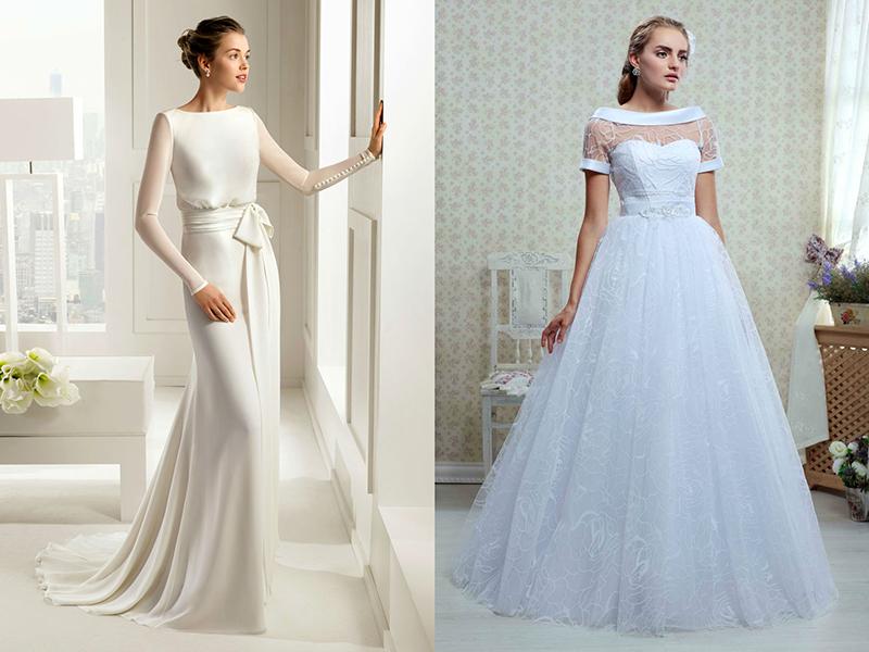 a3ccc15839e Скромные свадебные платья – не означает скучные