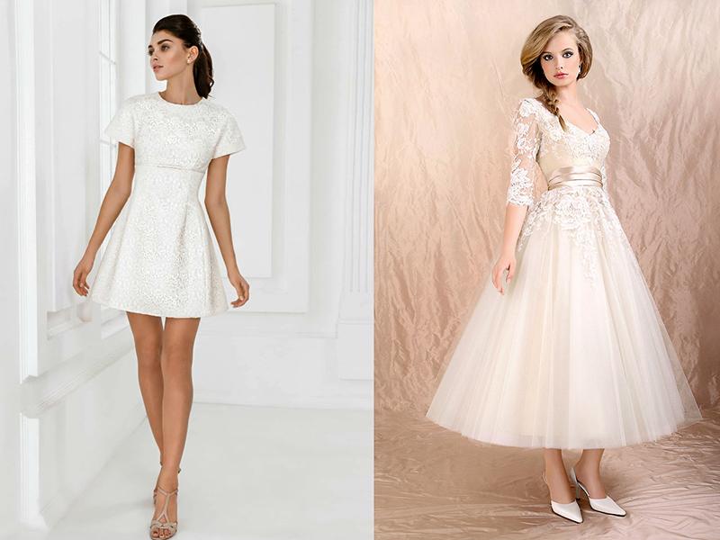 76abce0d449 Свадебные платья для невысоких девушек  лучшие модели сезона