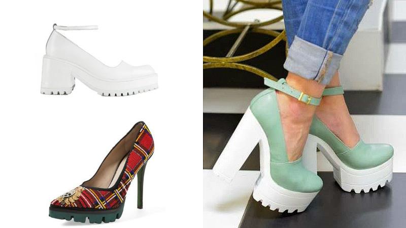 28a645361 Актуальность. Туфли на тракторной подошве, похоже, очень прочно  «обосновались» на модном подиуме, поэтому можно смело покупать такие модели,  они еще долго ...