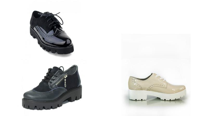 6bd813c75 Второй всплеск интереса к обуви на подошве, напоминающей протектор трактора,  случился в 90-е. В это время в моду вошло направление унисекс, поэтому  девушки ...