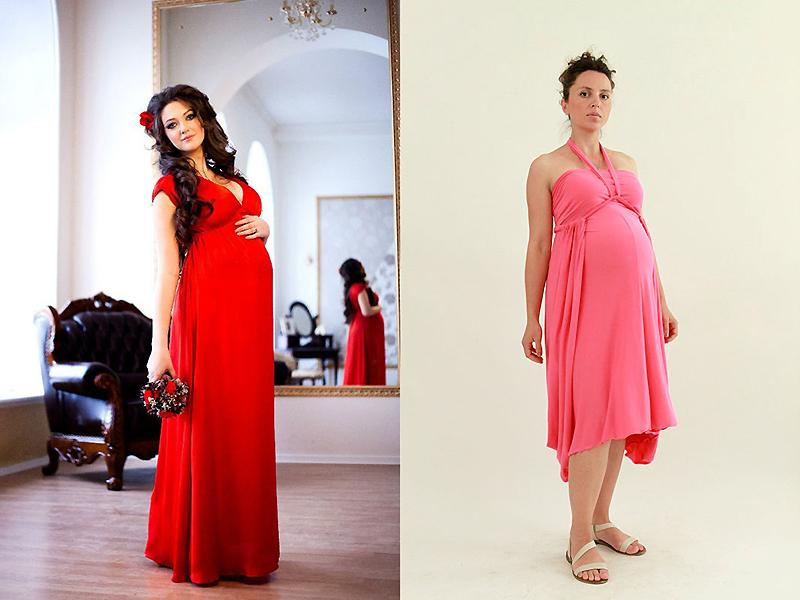 224b11377db Платье-трансформер представляется идеальным вариантом для будущих мамочек.  Фигура беременной женщины быстро меняется в течение короткого периода.