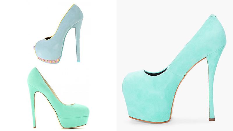 e01f2502599c Туфли мятного цвета – изящный тренд сезона | Мода от Кутюр.Ru