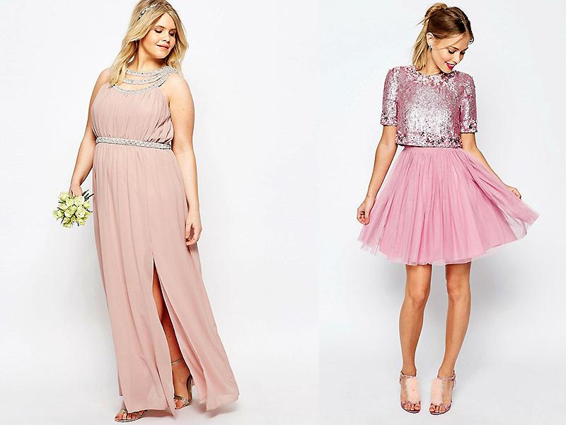 271ba7c672e Розовое вечернее платье – для мечтательных и мягких натур