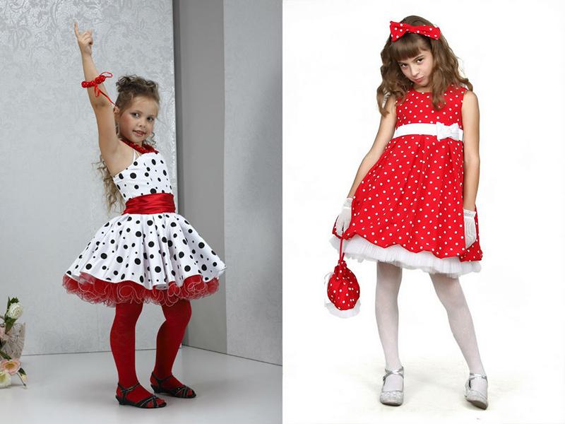 cf581efd6ca Платье в горошек для девочек – универсальный наряд для любого ...