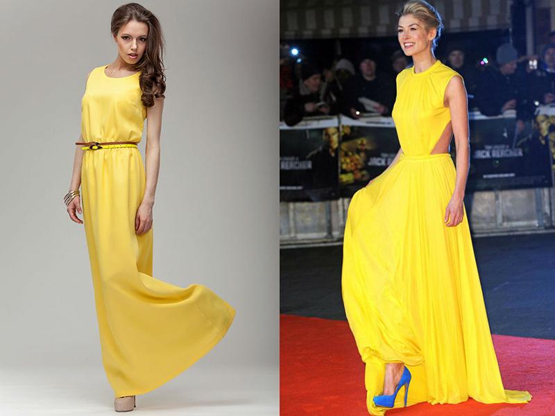 Смотреть Желтое шелковое платье — главный хит сезона видео