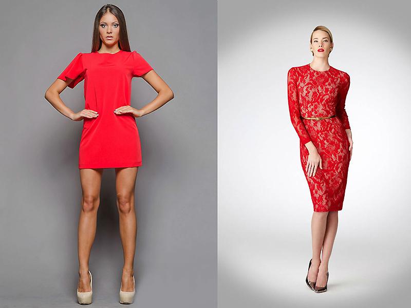 e447085777e Всегда популярное красное короткое платье