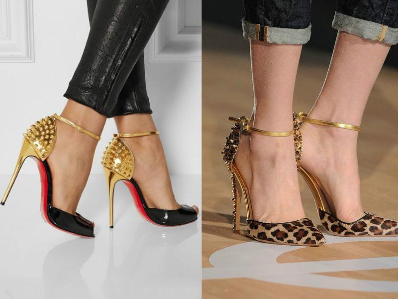 35cf0af3 А вот гламурные барышни решились надеть женские туфли с шипами только в  двадцать первом веке. И первой из известных личностей подобную обувь решали  ...