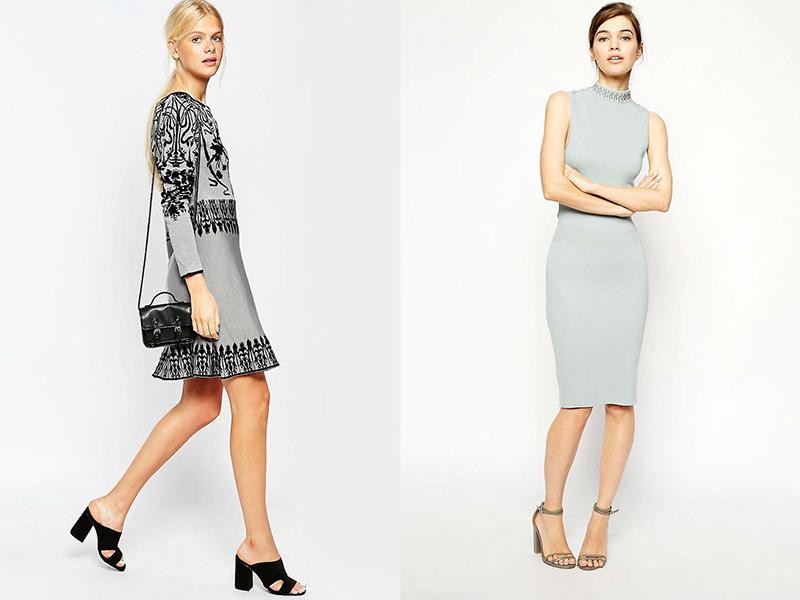 941727d2b70f Если вы наденете элегантное серое платье без изысков, украшенное изящными  аксессуарами, то произведете неизгладимое впечатление на окружающих и  наверняка ...