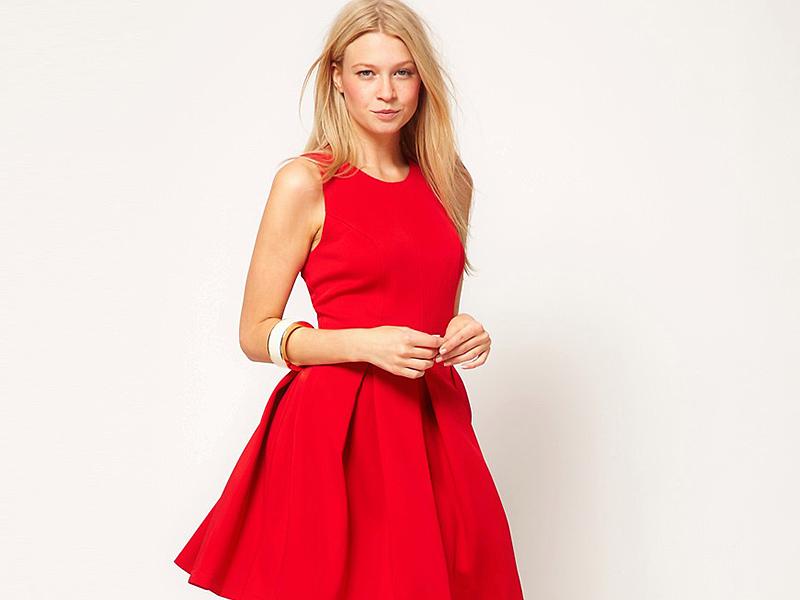 d5ccd0088e0 Красное коктейльное платье  подойдет любой моднице