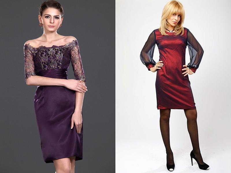 190ae93f979 Атласные платья – тренд каждого сезона