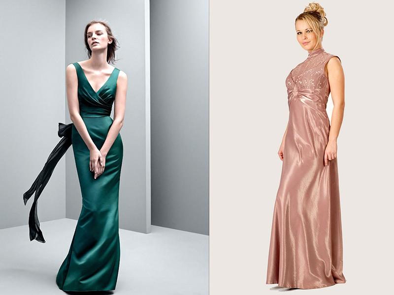 0c6a7d77c90 Очень красиво и женственно выглядит длинное атласное платье в греческом  стиле. В таком наряде любая девушка сможет почувствовать себя античной  богиней