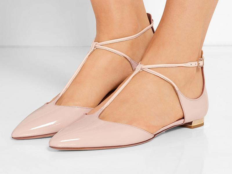 01c71003d Свадебные туфли без каблука: сложности выбора | Мода от Кутюр.Ru