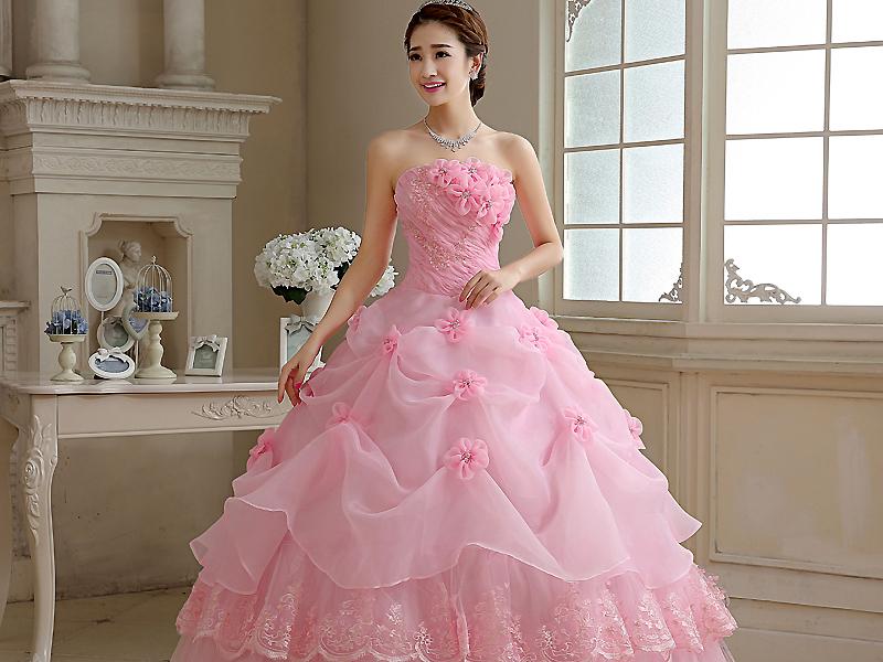 e7364b179979db6 Пышное розовое платье — выбор настоящих принцесс   Мода от Кутюр.Ru