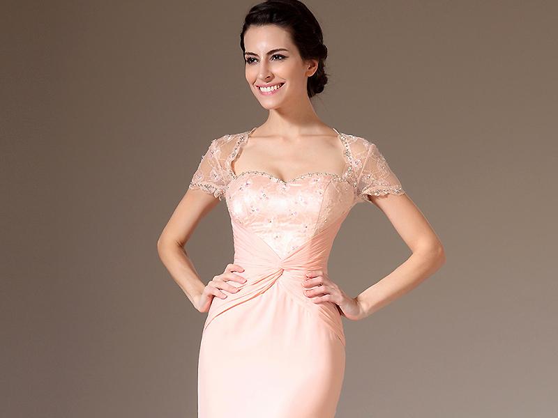 151f5fbbc2b Розовое вечернее платье – для мечтательных и мягких натур