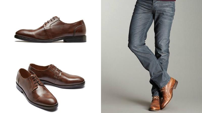 9cf9b7fe Идеальной парой мужских туфель к классическим джинсам станут кожаные или  замшевые классические туфли, лоферы или мокасины. Разумеется, мокасины  подойдут ...