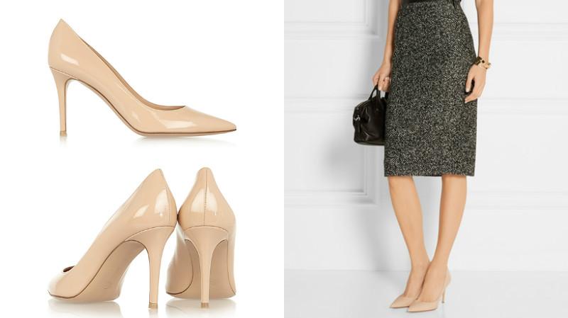 e8b3d001 Так, для работы можно приобрести пару на среднем каблуке и без  дополнительного декора. Считается, что лаковые туфли не вписываются в  офисный дресс-код, ...