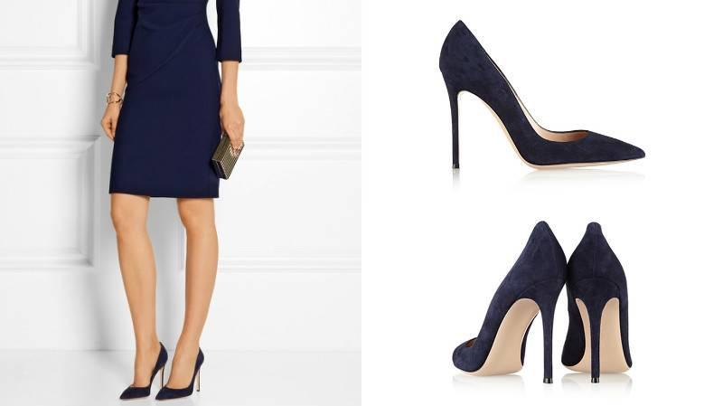 48628fd21a2 Синие замшевые туфли – прекрасный выбор для торжества