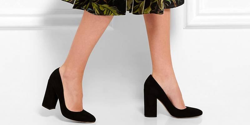 a3f5081493c6 ... туфли на толстом каблуке. Тем более что эта обувь сегодня на пике моды.  Содержание: ...