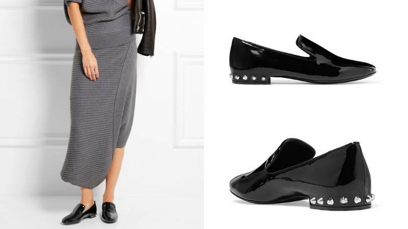 fede60106 Туфли без каблука – модные коллекции сезона | Мода от Кутюр.Ru