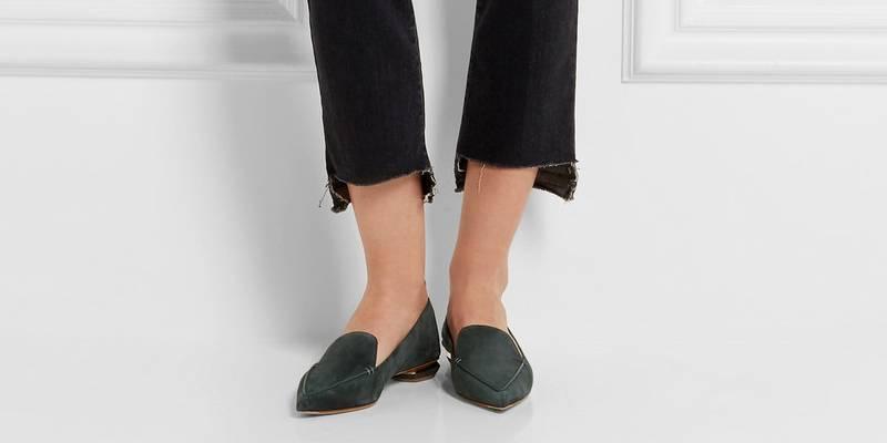 521dbf287 Серые туфли: с чем носить и как комбинировать | Мода от Кутюр.Ru