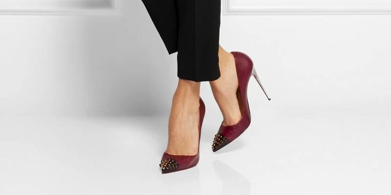 Туфли с острым носом на шпильке – забытый модный тренд   Мода от Кутюр.Ru