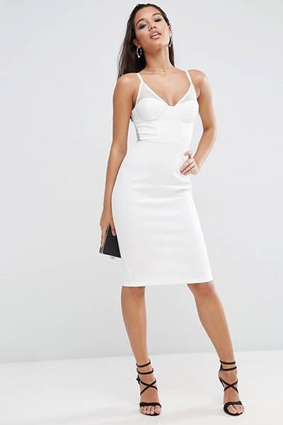 Белое платье и белые туфли (62 фото): красные и черные туфли ...   600x400