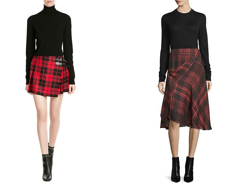 d7eef75a818d Юбка-шотландка – непредсказуемая, уникальная, обворожительная | Мода ...