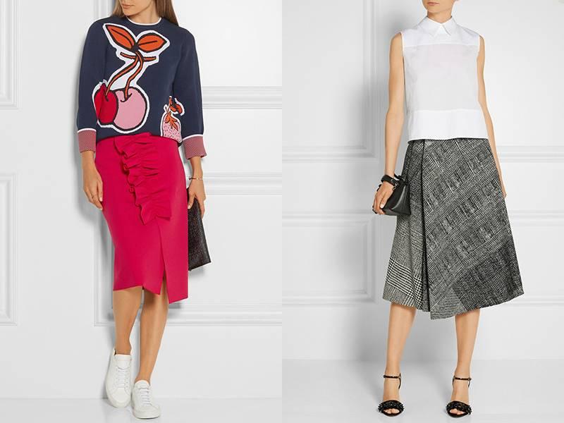 92b27c12adb Стильная и оригинальная — длинная юбка с запахом